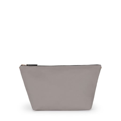 Medium sand-taupe colored Canvas Kaos Shock Bag