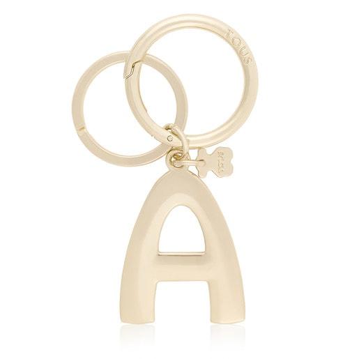 Touscedario Letter A Key ring
