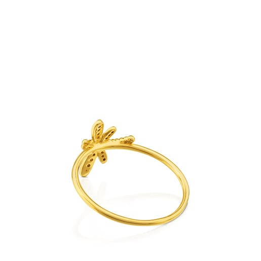 Bera Ring in Gold with Diamond