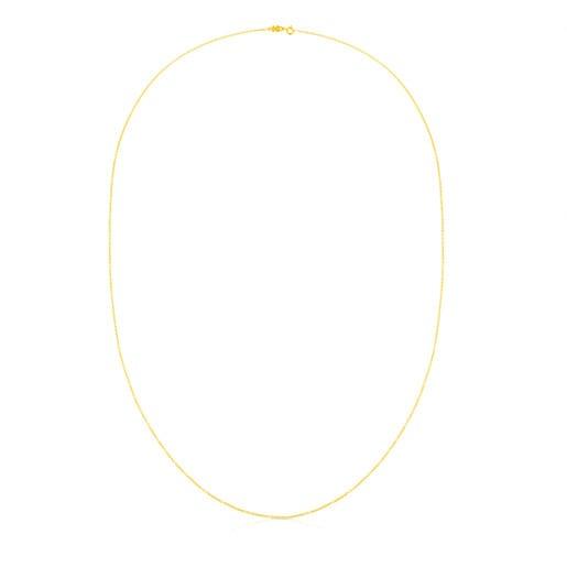 Cadena larga TOUS Chain de plata vermeil