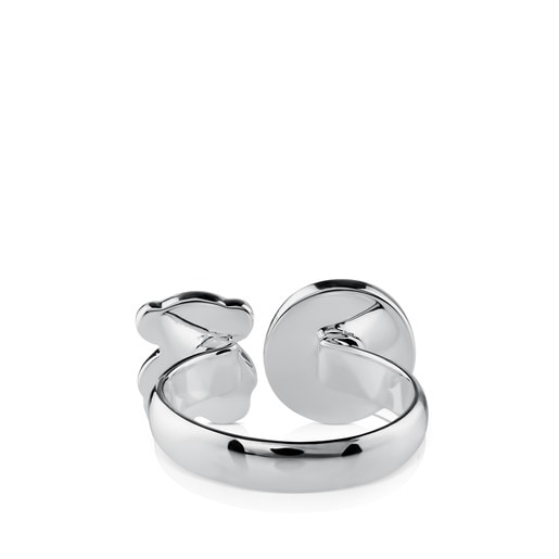 Silver Tack Conica Ring