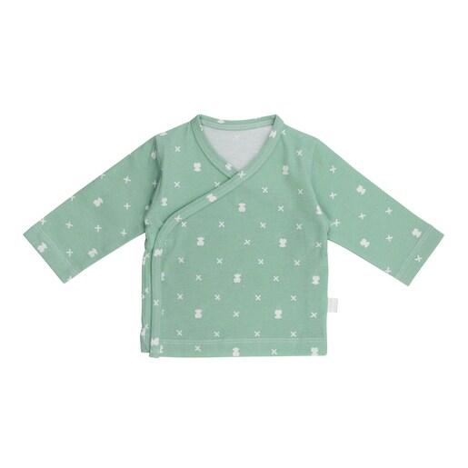 Camiseta cruzada M/L XBear recién nacido Bruma