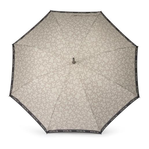 Paraguas grande Kaos New en color piedra