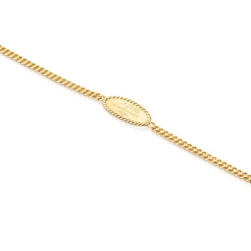 Bracelet Minne TOUS en Argent Vermeil