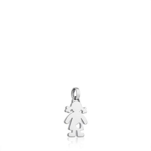 Silver Sweet Dolls Pendant
