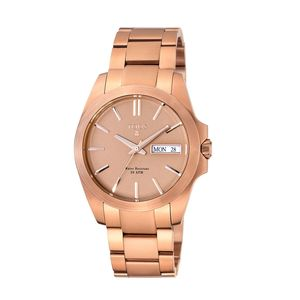 Pink IP Steel Drive Matt Watch
