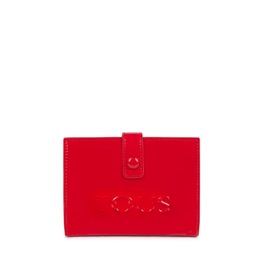 Small red and pink New Dorp Wallet