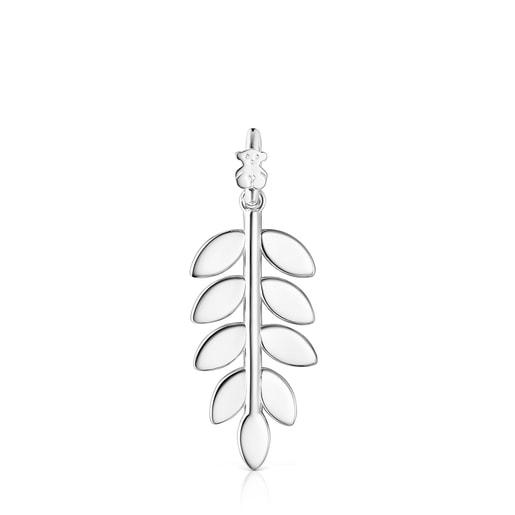 Colgante Fragile Nature laurel de plata