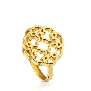Anillo Mossaic Power de Oro
