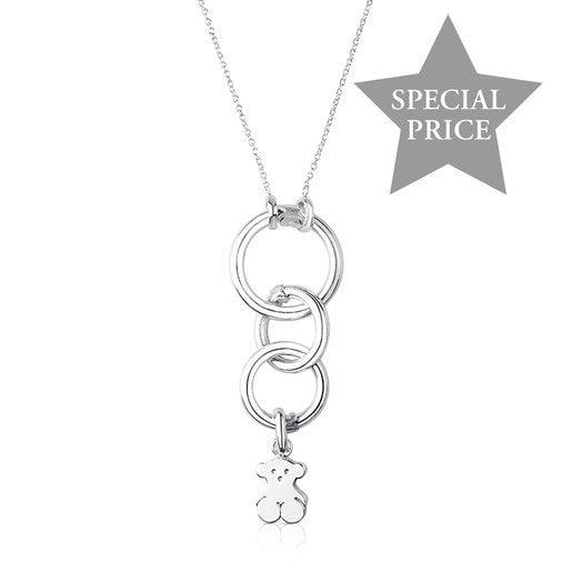 Silver Hold Necklace Set