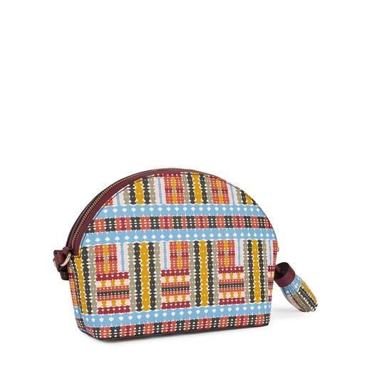 Medium multi-burgundy Alicya Crossbody bag