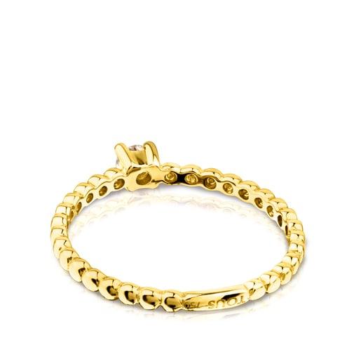 Anillo TOUS Brillants de Oro con Diamante