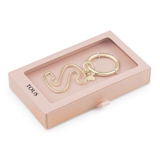 Touscedario Letter S Key ring