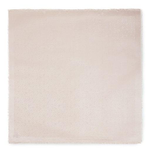 Pañuelo Kaos Mini Jacquard beige