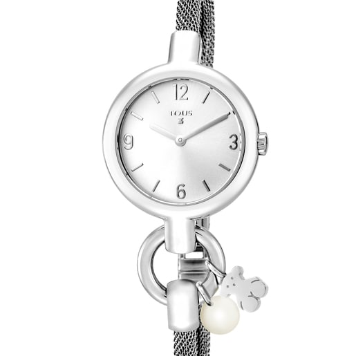 Steel Hold Charms Watch