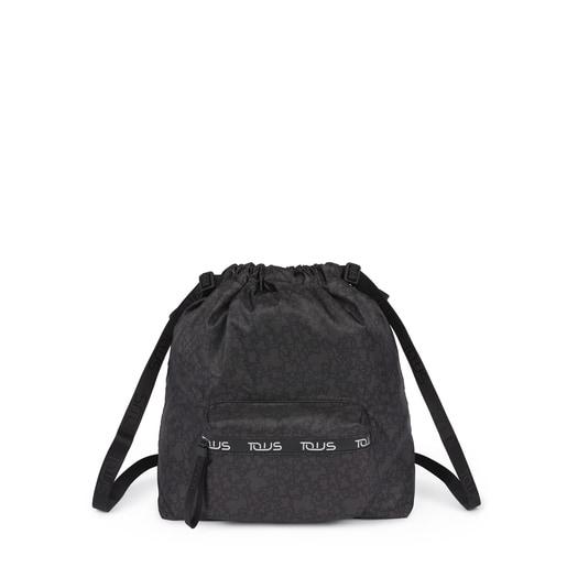 バックパック Kaos Mini Sport ブラックグレープリント / ナイロン