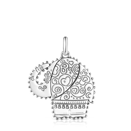 Silver Mi Talisman Pendant