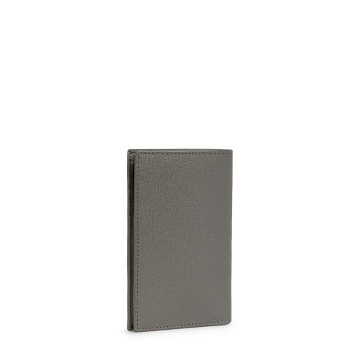 Pochette New Berlin moyenne en cuir de couleur noire