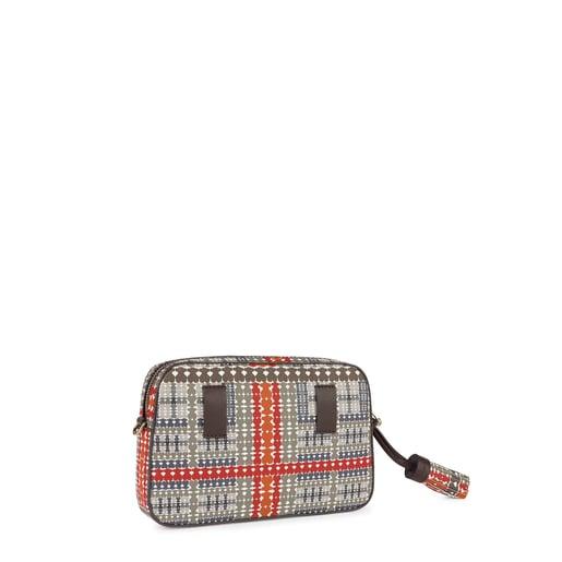 Stone-red Alicya Crossbody-waistbag