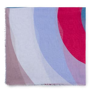 Foulard Adaz en color multi-lila