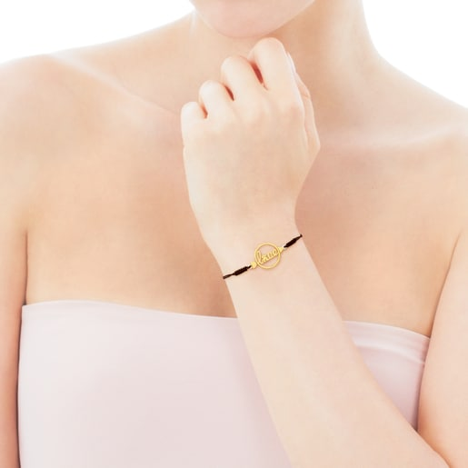 Gold San Valentin Bracelet with Mother-of-pearl