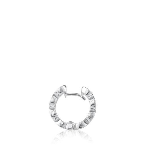 Silver Aura Earrings