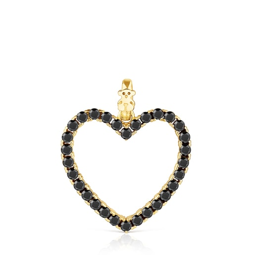 Pingente coração com Espinélios San Valentín