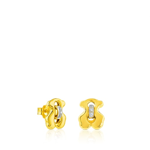 Gold Cruise Earrings