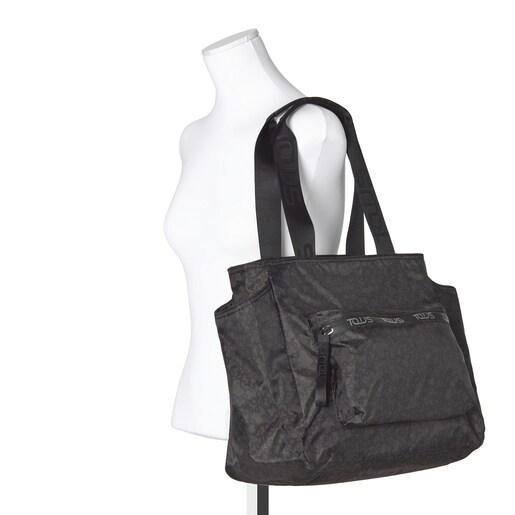 Black-gray Kaos Mini Sport Mommy Bag