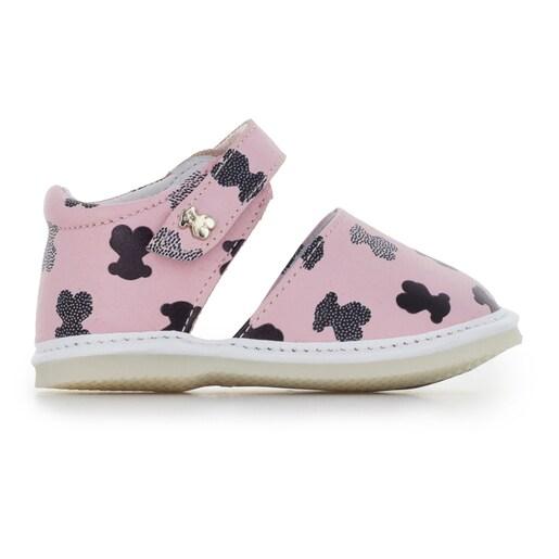 Patuco sandalia Mini Walk Points Rosa
