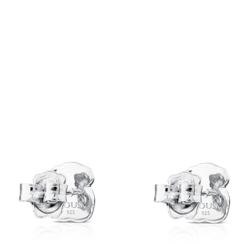 Boucles d'oreilles New Color en argent avec gaspéite