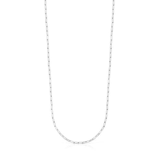 Long 75 cm Silver TOUS Chain oval Chain.