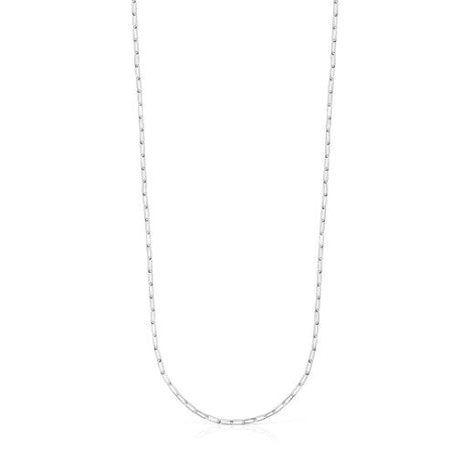 Cadena larga TOUS Chain oval de Plata 75cm.