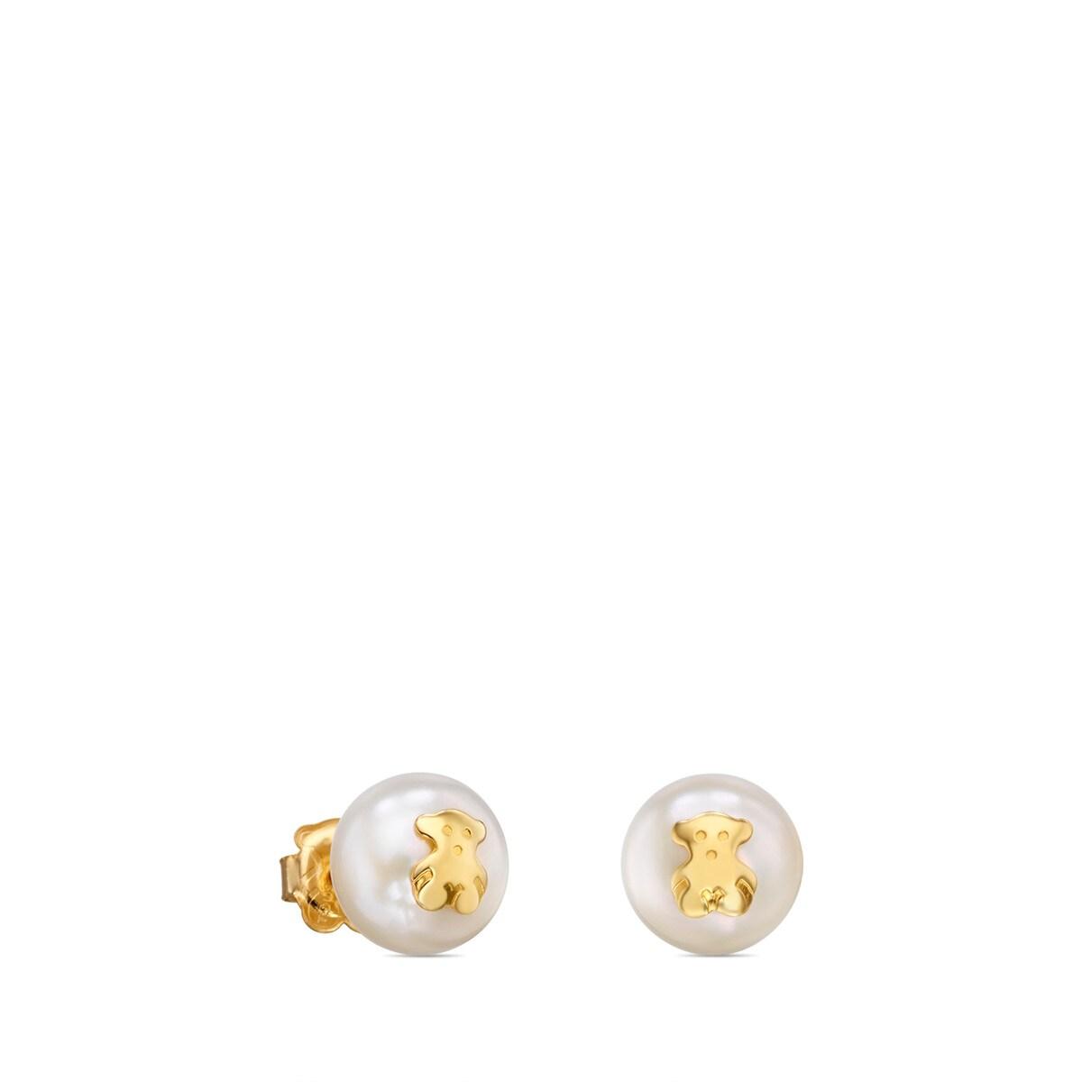 f27bc60a4c69 Pendientes TOUS Bear de Oro - Sitio web Tous España