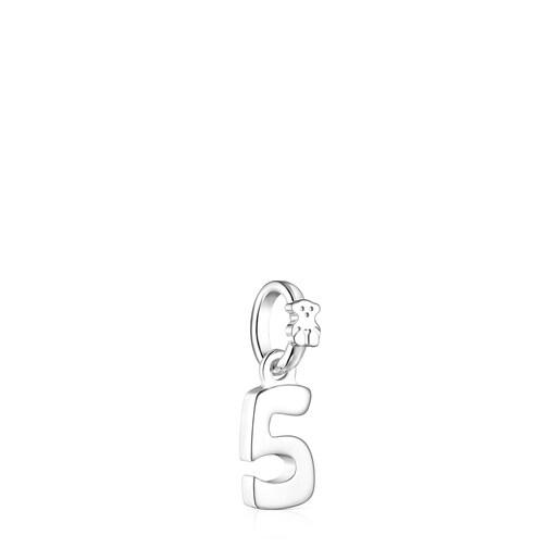 Anhänger Numbers aus Silber, Ziffer 5