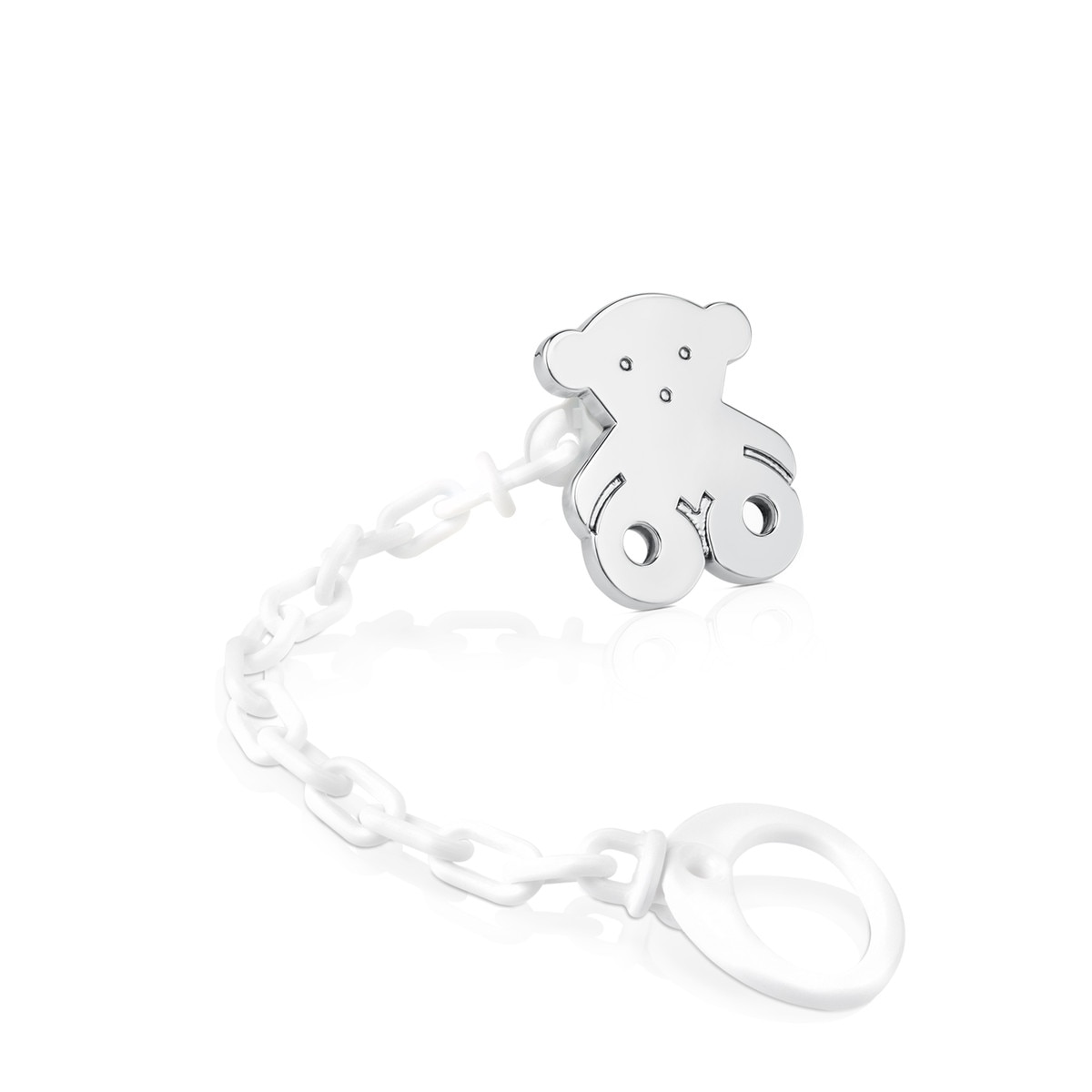 Silver Baby TOUS Pacifier