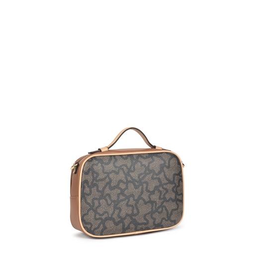 Kaos Icon multi black reporter shoulder bag