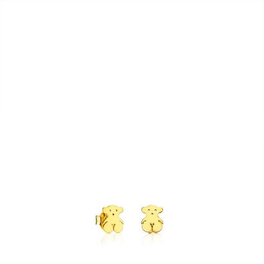 Aros TOUS Bear de Oro
