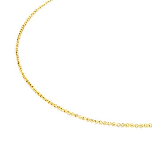 Gargantilla TOUS Chain de Plata vermeil