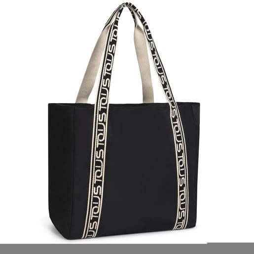 Large black Shelby shopping bag