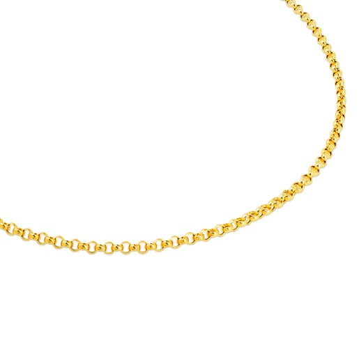 Gold TOUS Chain. 16 27/50.