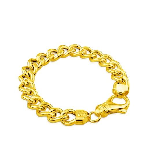 Bracelet TOUS Chain en Vermeil