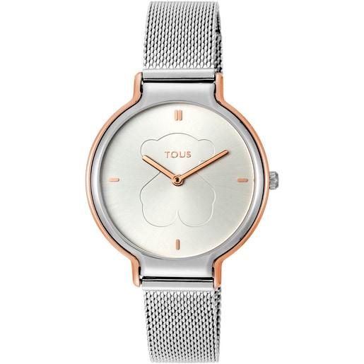 Rellotge Real Bear bicolor d'acer / IP rosat