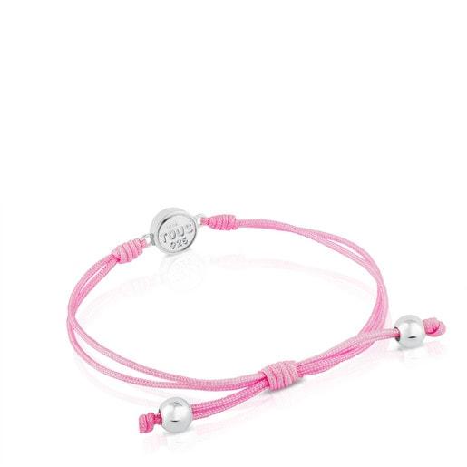 Silver Spot Bracelet with Enamel