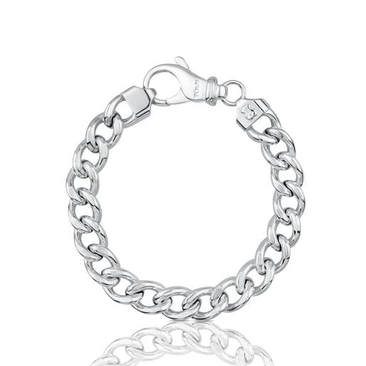 Bracelet TOUS Basics en Argent