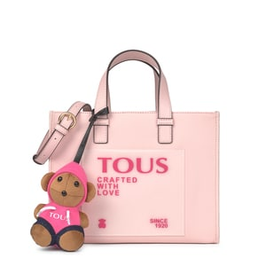 TOUS Shopping Mediano Amaya Fur Fucsia