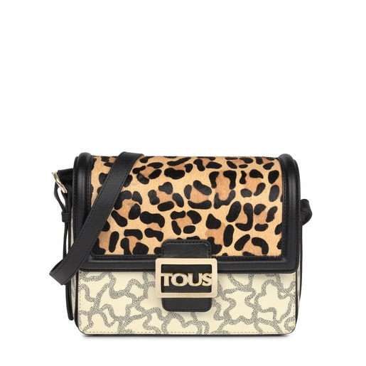 Medium multi-black Kaos Icon Wild Crossbody bag