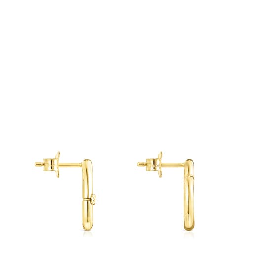 Hold Gold heart Earrings