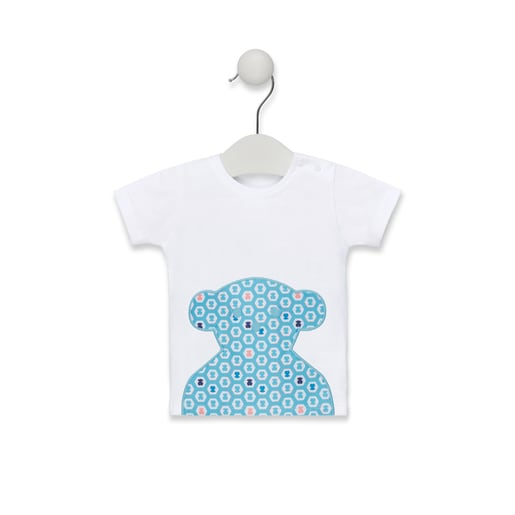 Camiseta de playa Exagon Azul Celeste