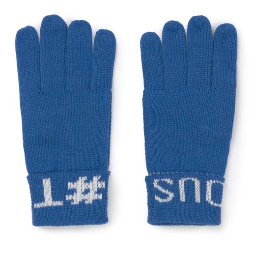 Μπλε Γάντια TOUS Lovers